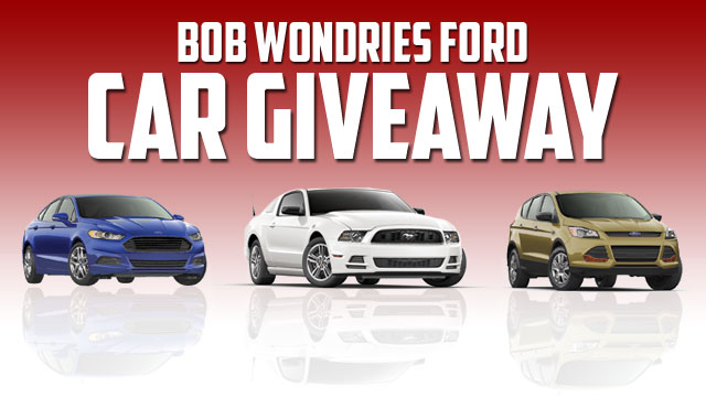Bob Wondries Ford >> Go Country 105 - Win a new car from Bob Wondries Ford