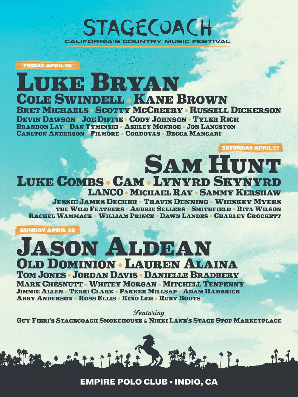 Go Country 105 - Win tickets to Stagecoach 2019