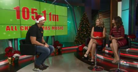 David Talks Christmas and Country Music on FOX 11's Good Day L.A.