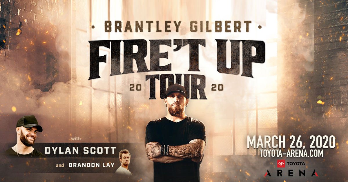 Win tickets to see Brantley Gilbert