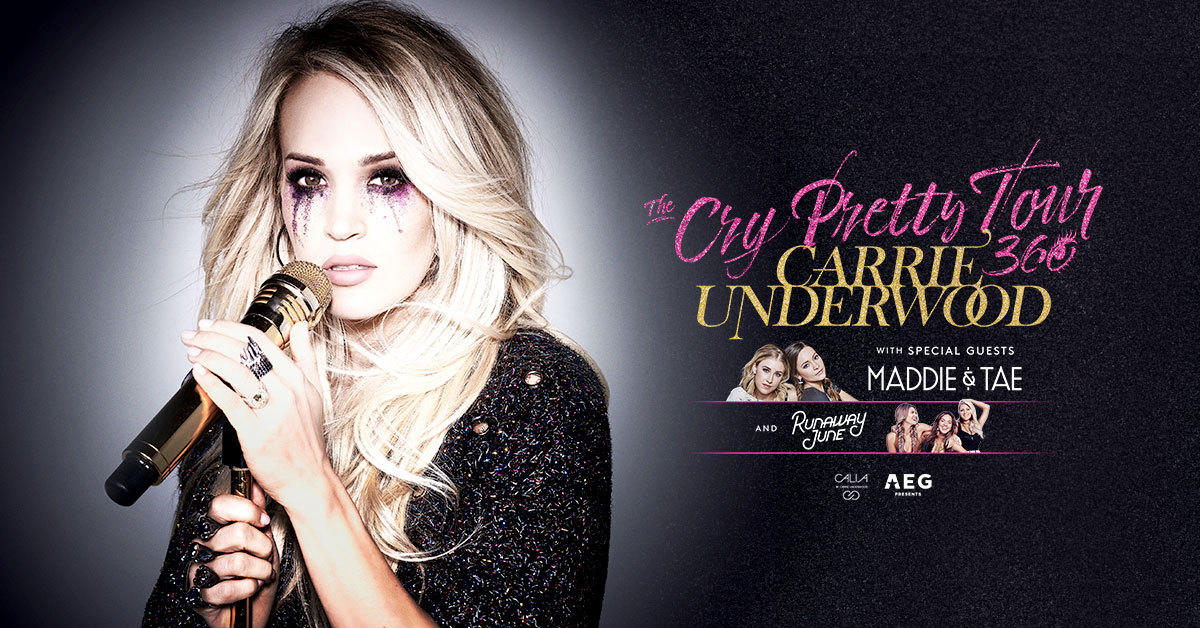 Win tickets to see Carrie Underwood