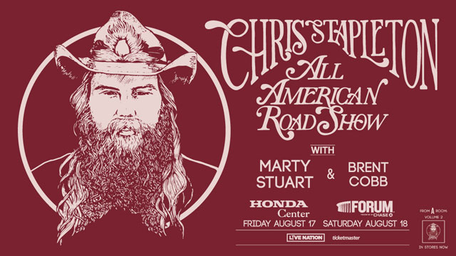 Go Country 105 - Win tickets to see Chris Stapleton