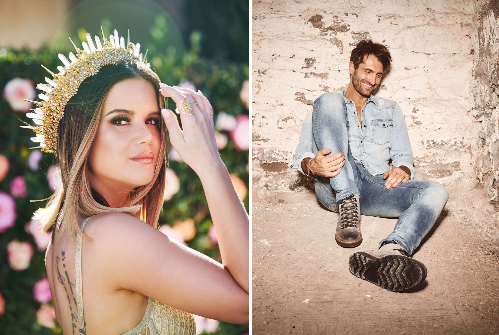 Maren Morris<br>and Ryan Hurd
